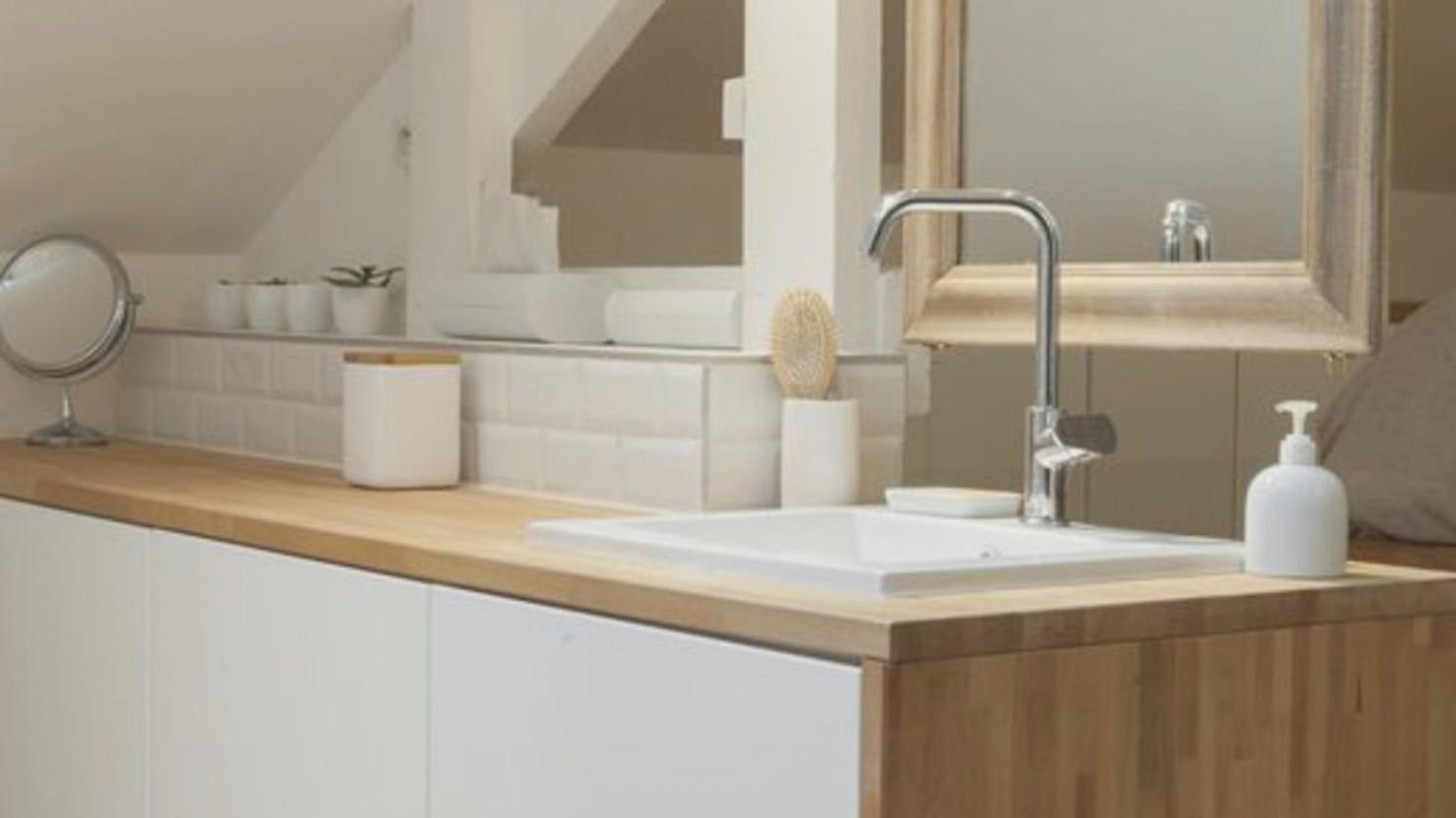 Plan de travail meuble vasque - pearlfection.fr