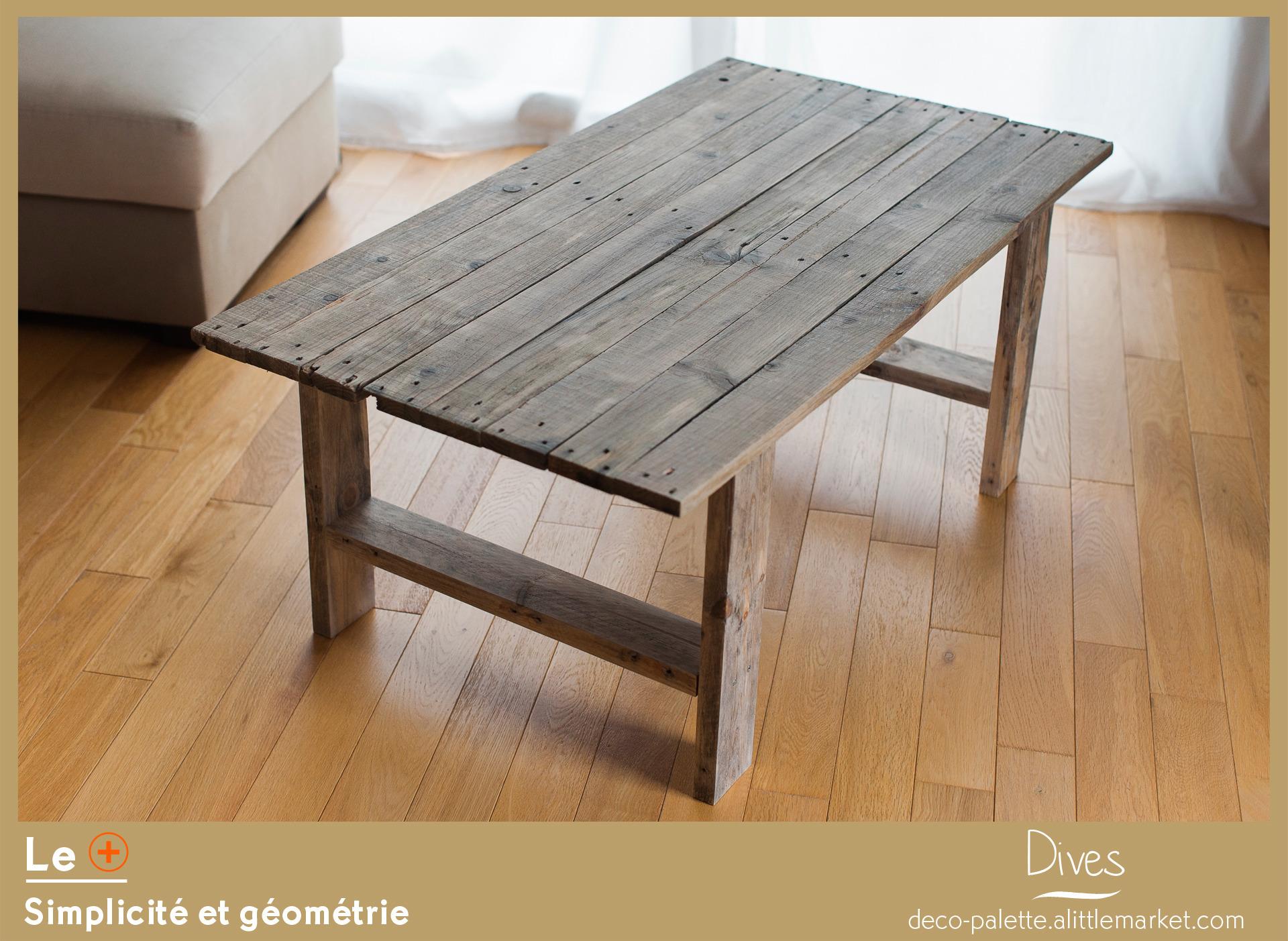 fabriquer table basse avec plan de travail - pearlfection.fr