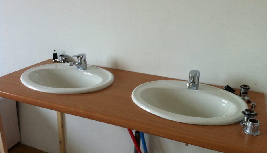 Plan De Travail Pour Vasque De Salle De Bain Pearlfection Fr