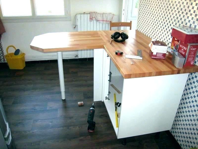 Fabriquer Table Haute Plan De Travail Pearlfection Fr