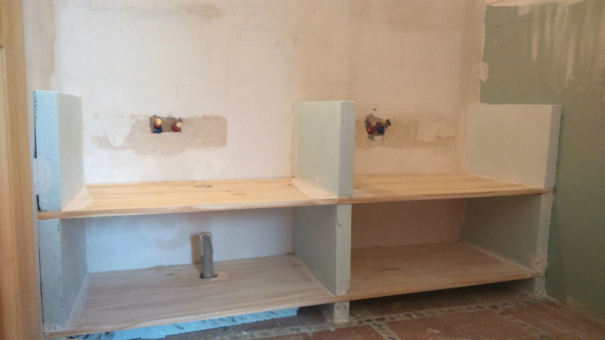 Jambage Plan De Travail Salle De Bain