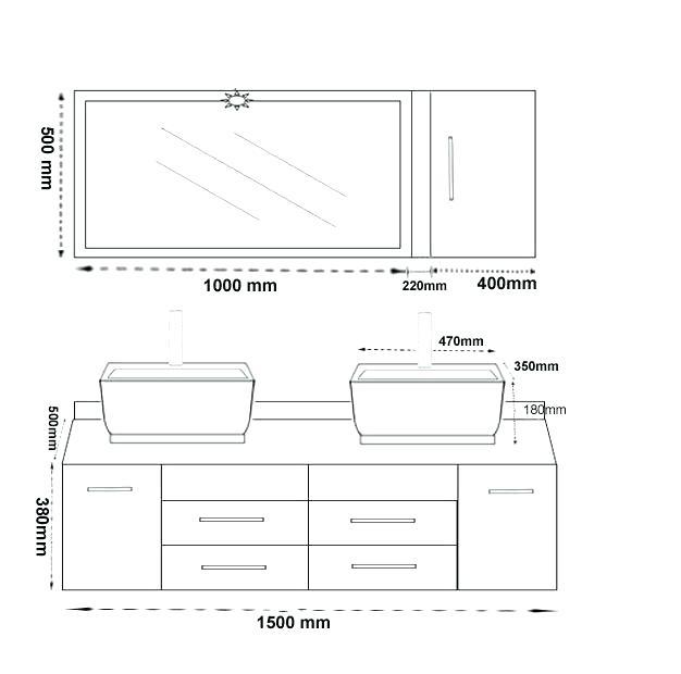 Hauteur Plan De Toilette Vasque à Poser