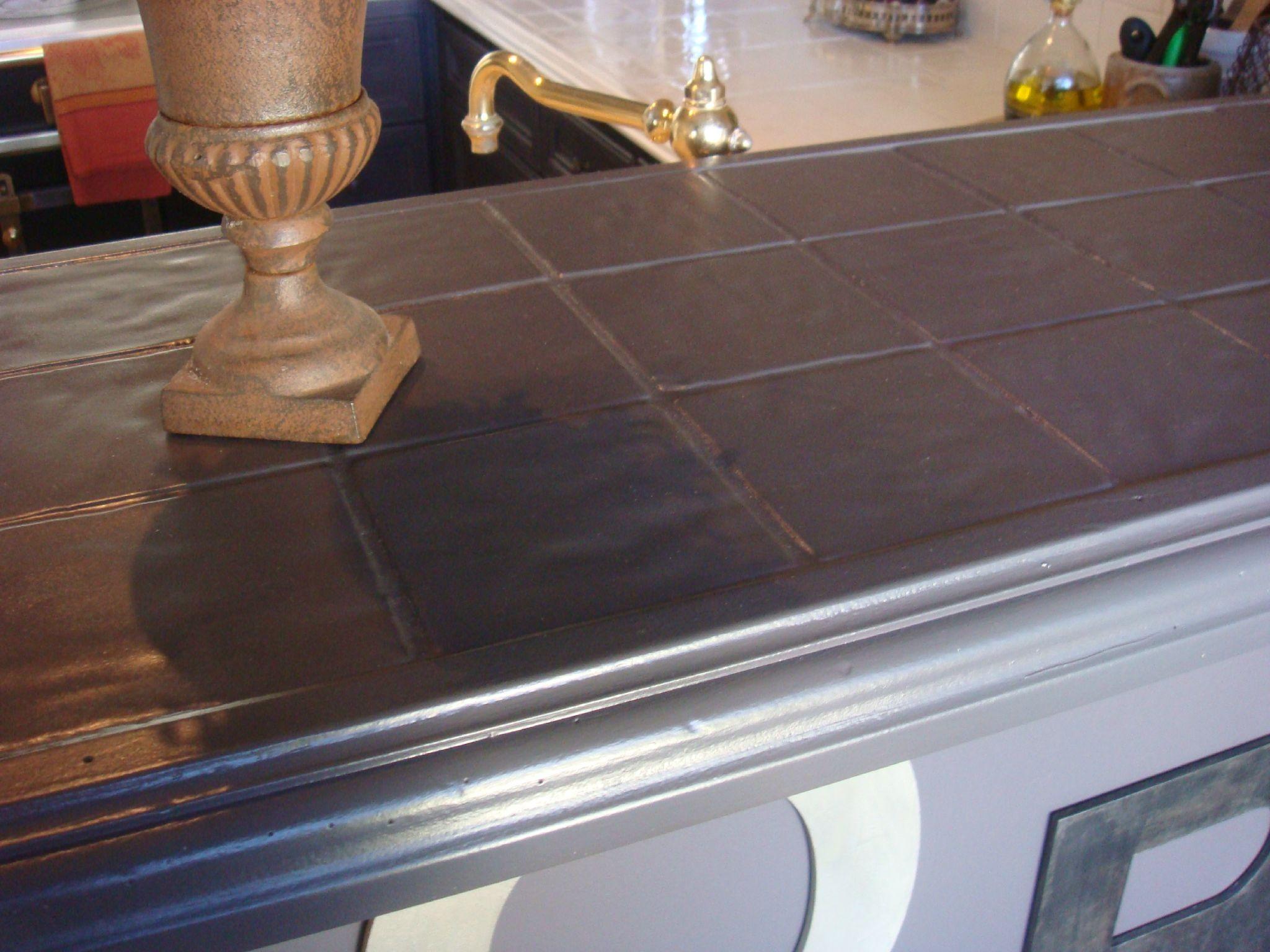 Enlever Carrelage Plan De Travail Cuisine peinture resine pour plan de travail cuisine