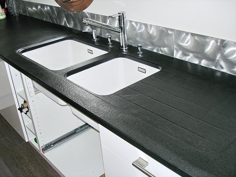 Plan De Travail Ikea Noir Marbre Pearlfection Fr