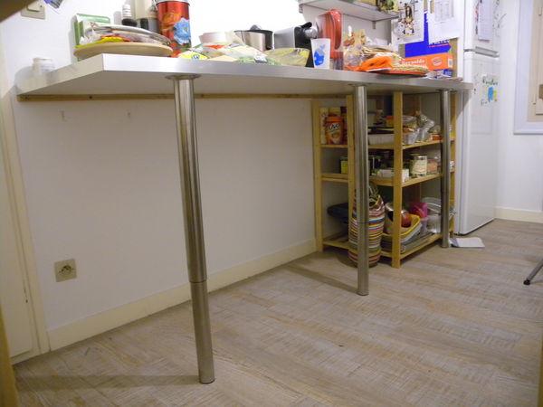 Pied Plan De Travail Ikea.Pied Plan De Travail Escamotable Pearlfection Fr