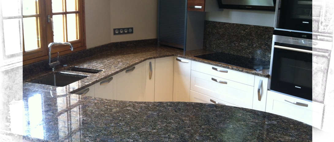 Plan de travail marbre ou granite - pearlfection.fr