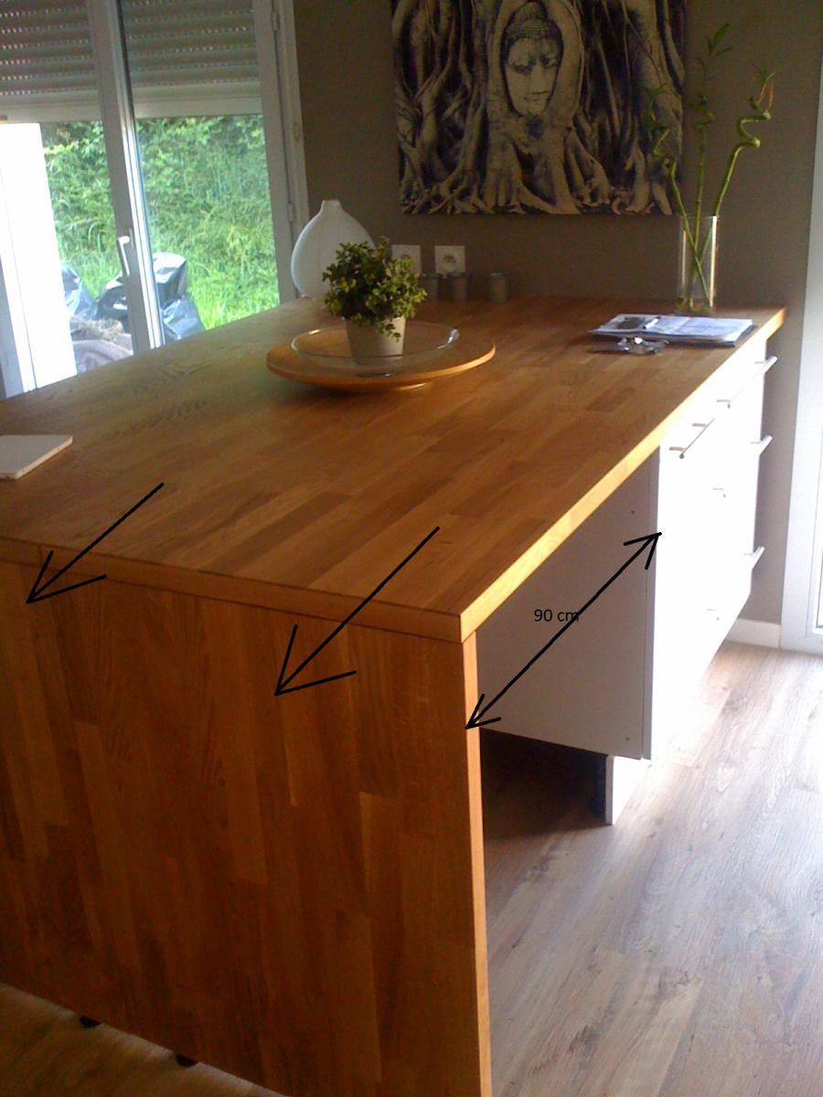 Fabriquer Une Table De Cuisine Avec Un Plan De Travail table de cuisine: table de cuisine contre mur