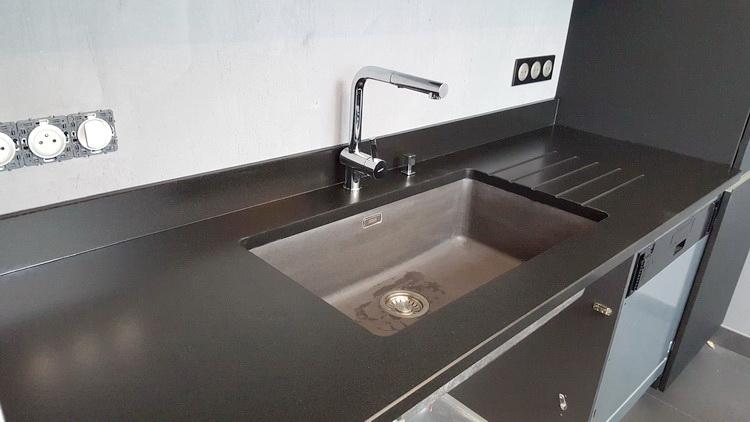 Plan De Travail En Granit Noir Zimbabwe Pearlfection Fr