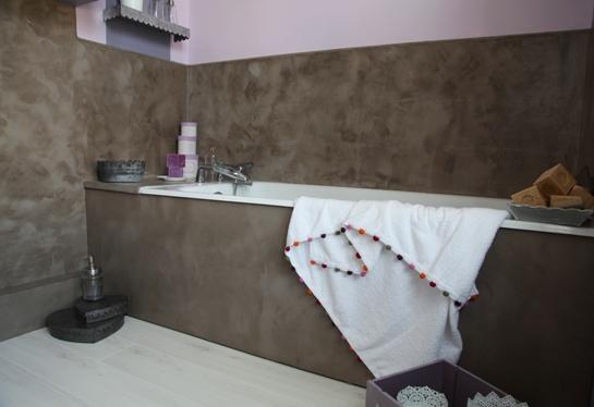Plan de travail en beton salle de bain - pearlfection.fr