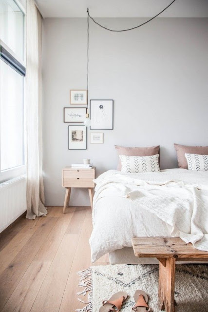 Deco scandinave rose chambre - pearlfection.fr