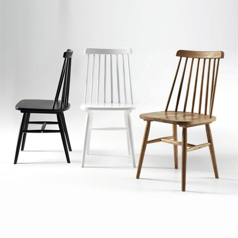 Chaise Bois Barreaux Scandinave