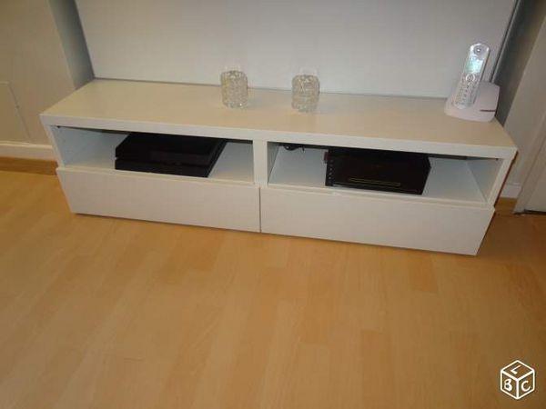 Meuble Tv Scandinave Ikea Noir Pearlfectionfr