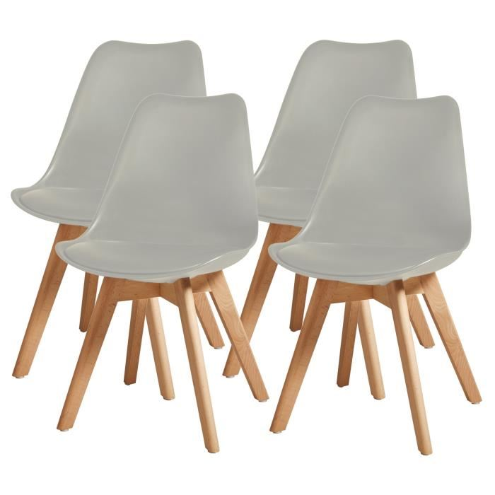 Chaise scandinave lineag