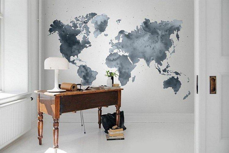 Papier peint meuble scandinave