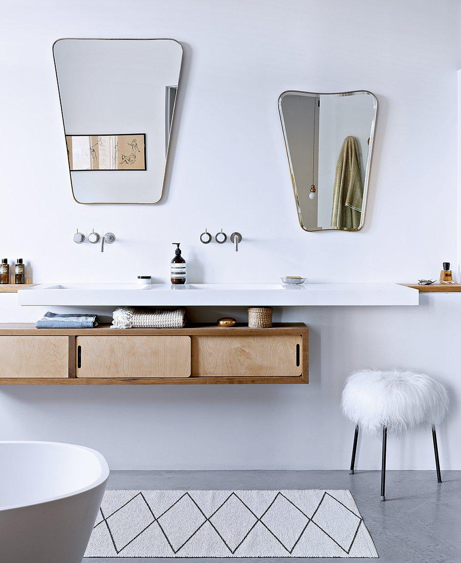Meuble de salle de bain style scandinave - pearlfection.fr