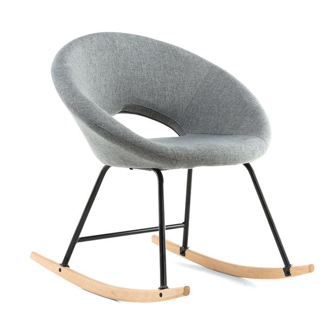 Chaise A Bascule Cocktail Scandinave Pearlfection Fr