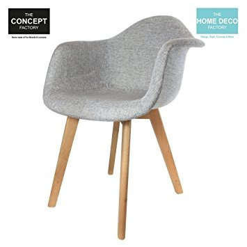 Amazon Chaise Scandinave Grise Pearlfection Fr