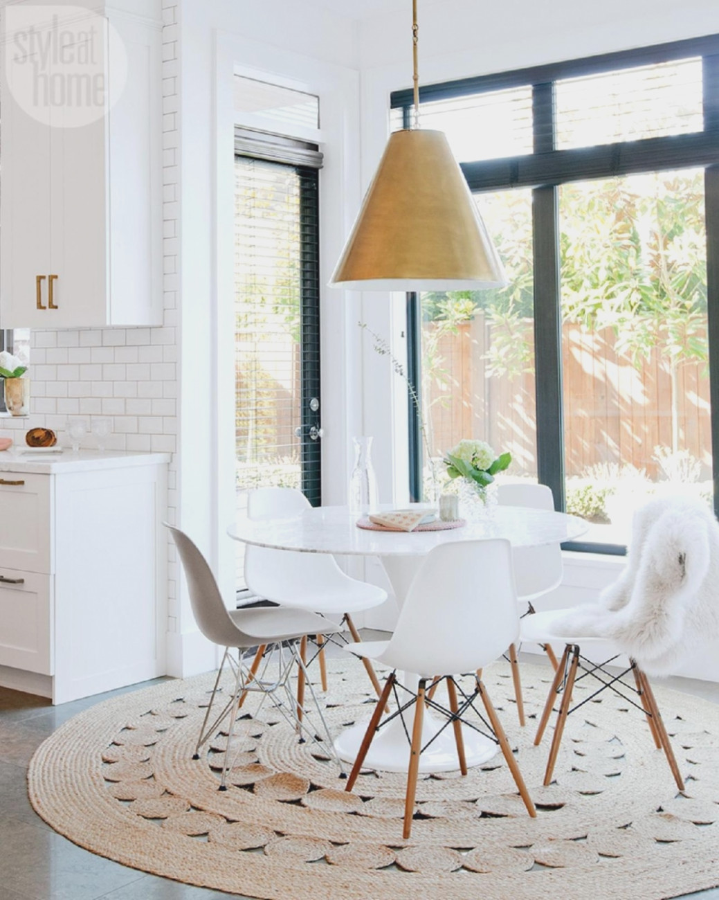 Chaise Table Scandinave Pearlfection Fr