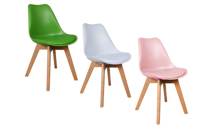 Chaise Coloree Scandinave