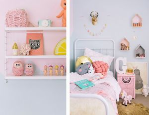 Deco chambre scandinave pastel - pearlfection.fr