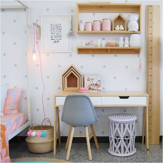 Deco scandinave chambre fille - pearlfection.fr