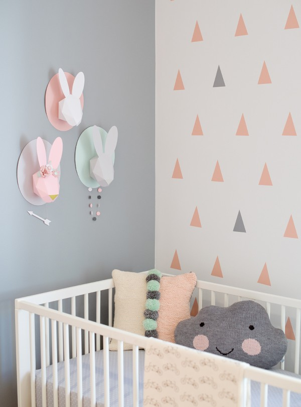 Deco chambre bebe fille scandinave - pearlfection.fr