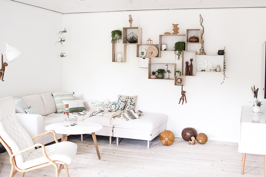 Deco Murale Bois Scandinave Pearlfectionfr