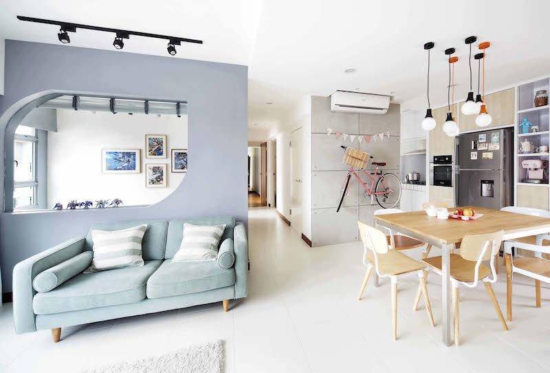 Charmant Deco Salon Moderne Scandinave