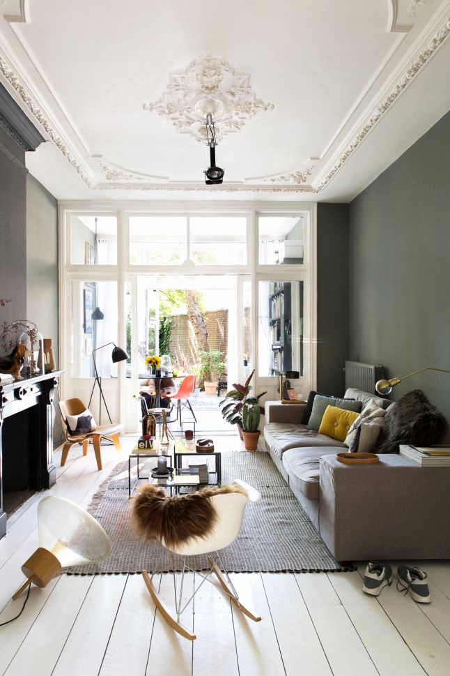 Deco scandinave appartement haussmannien - pearlfection.fr