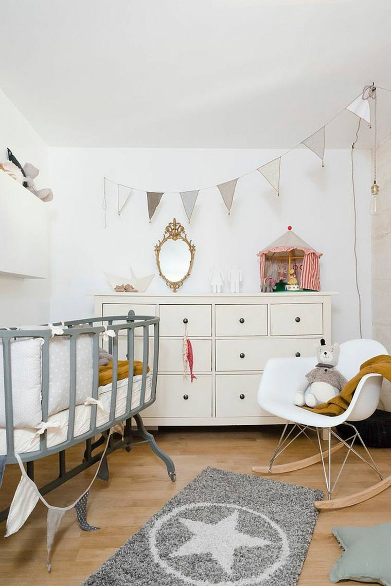Chambre deco scandinave rose   pearlfection.fr