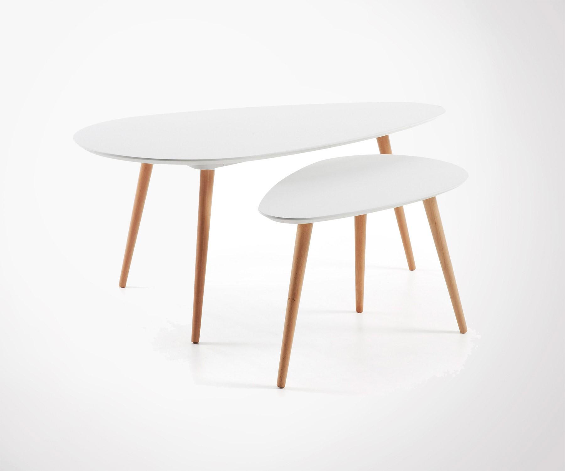 Scandinave Scandinave Basse Basse Design Totem Design Table Table lF3T1KJc