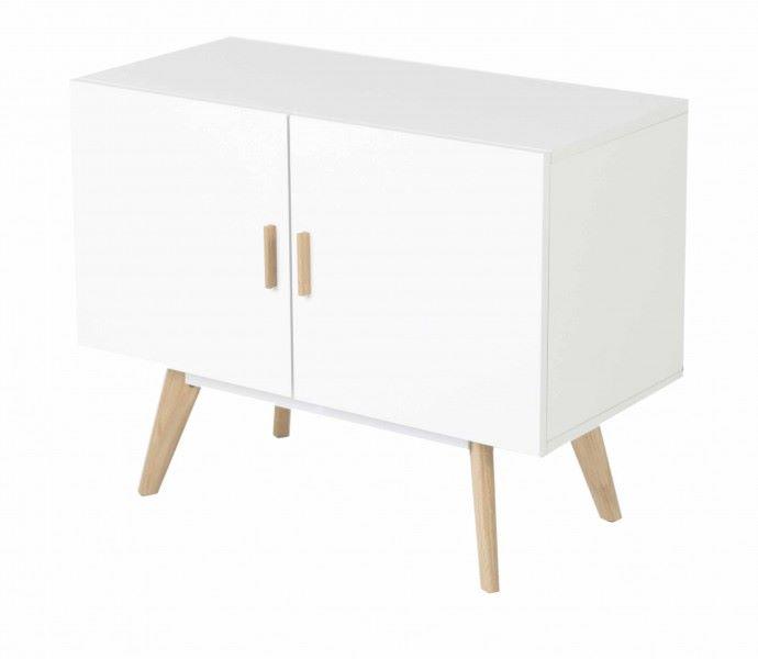 Petit meuble de rangement style scandinave
