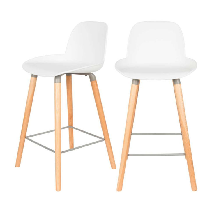 Chaise de bar scandinave 65 - pearlfection.fr 87b057c75808