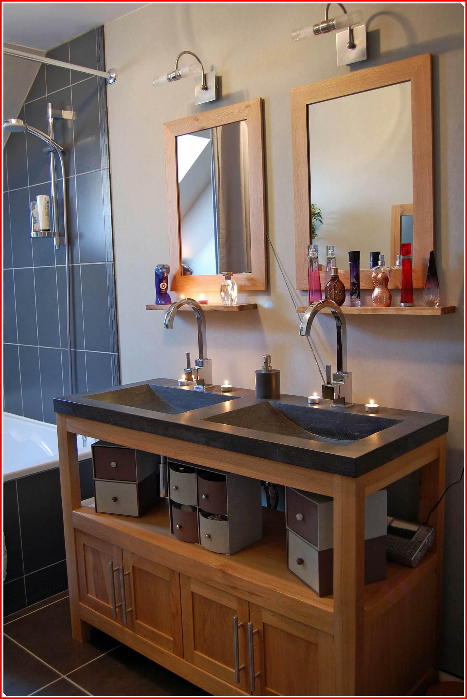 Meuble de salle de bains cocktail scandinave