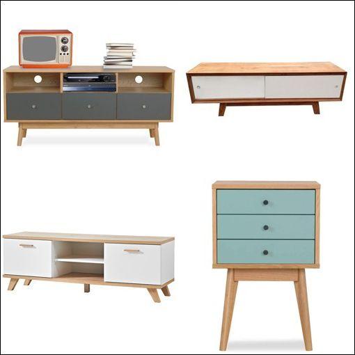 Collection meuble scandinave