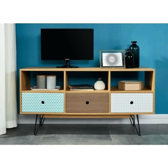 Meuble tv scandinave 100cm