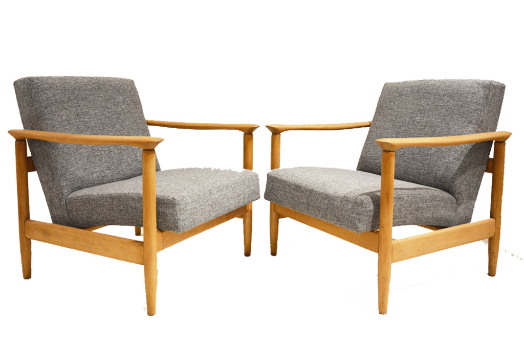 Chaise Bois Accoudoir Scandinave