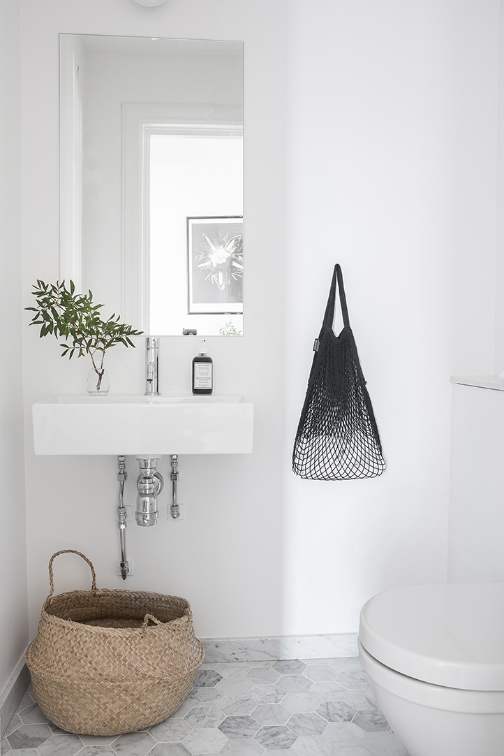 Deco salle de bain style scandinave - pearlfection.fr