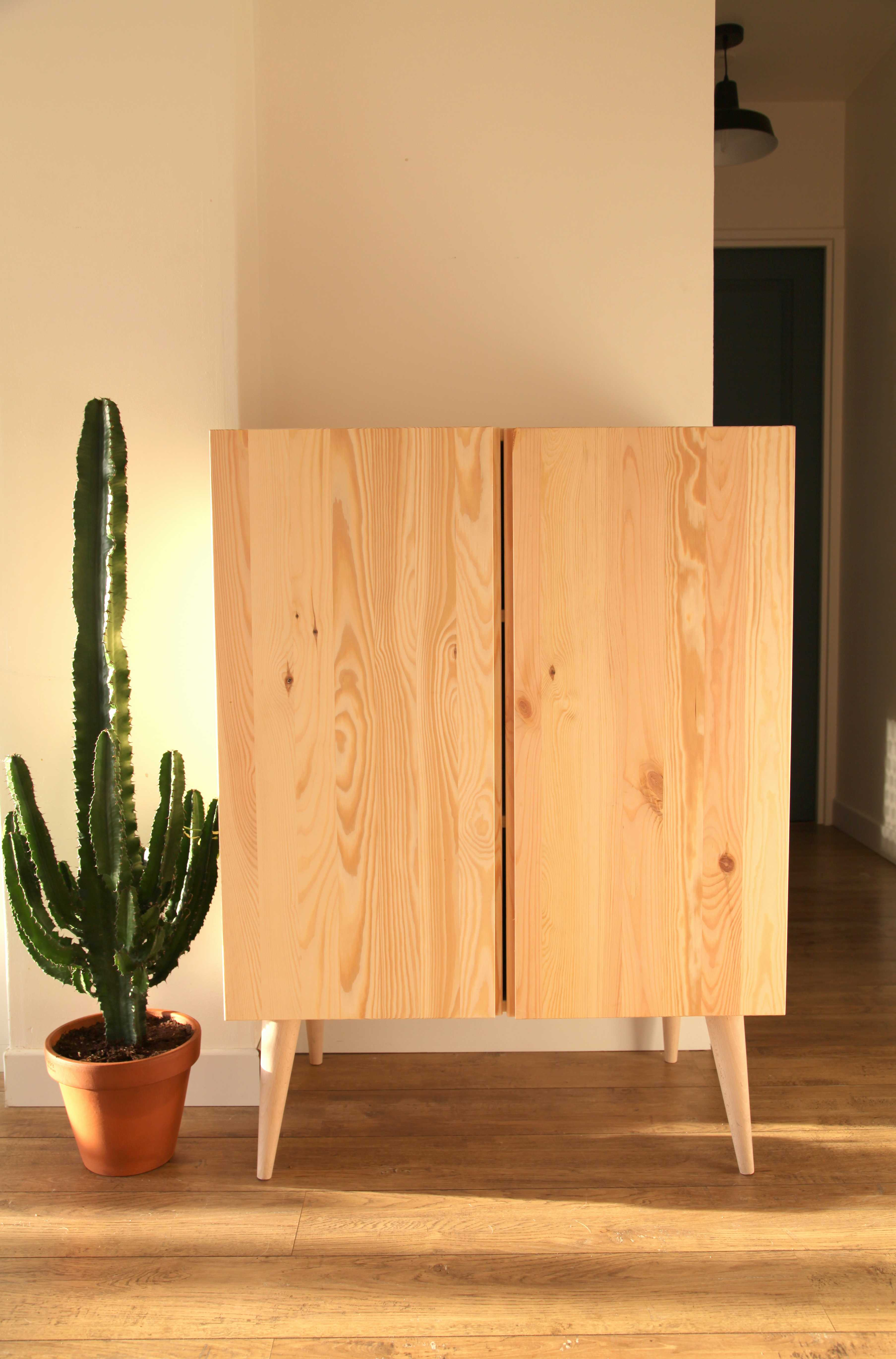 Relooking meuble style scandinave