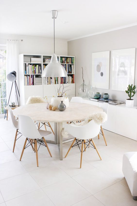 Table Salle A Manger Esprit Scandinave Pearlfection Fr