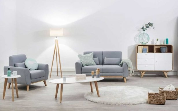 Déco salon scandinave beige blanc - pearlfection.fr