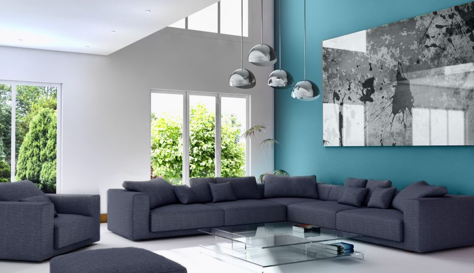 Deco Salon Scandinave Bleu Canard – Fashionsneakers.club
