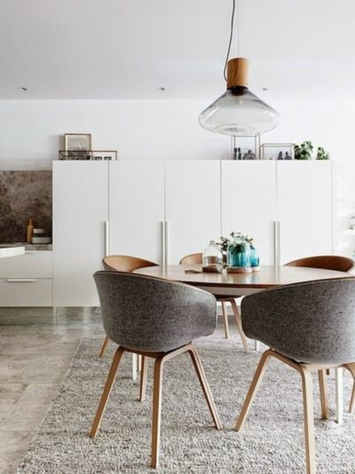 Chaise Scandinave Avec Table Pearlfection Fr