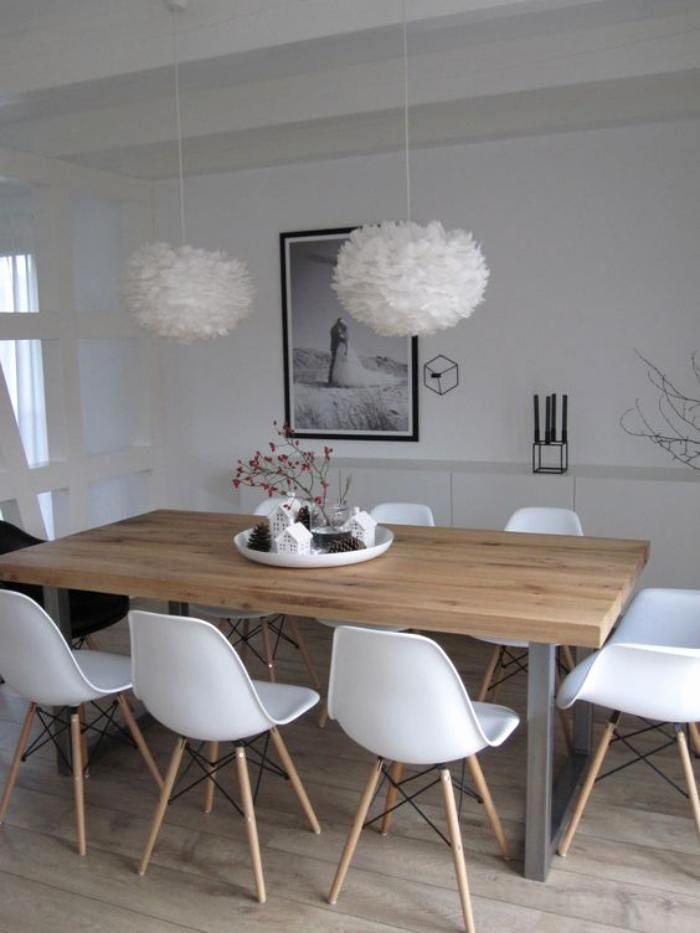 Ensemble Table Chaises Scandinave Pearlfection Fr