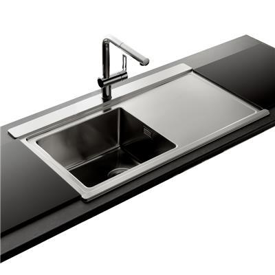 evier inox bross femandm. Black Bedroom Furniture Sets. Home Design Ideas