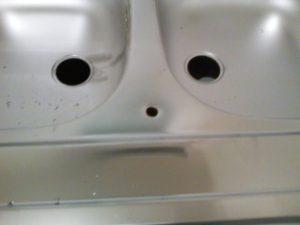 Percer un evier inox pour robinet