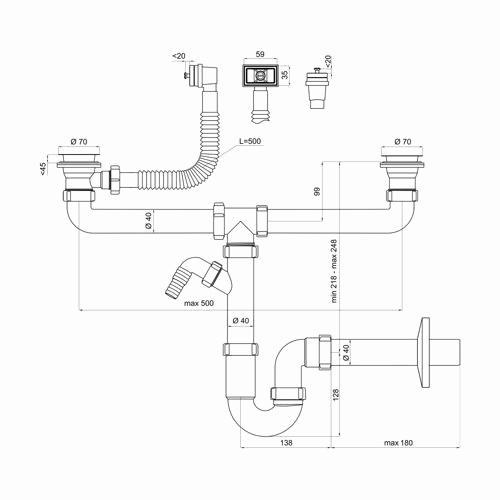faire evacuation evier et lave vaisselle. Black Bedroom Furniture Sets. Home Design Ideas