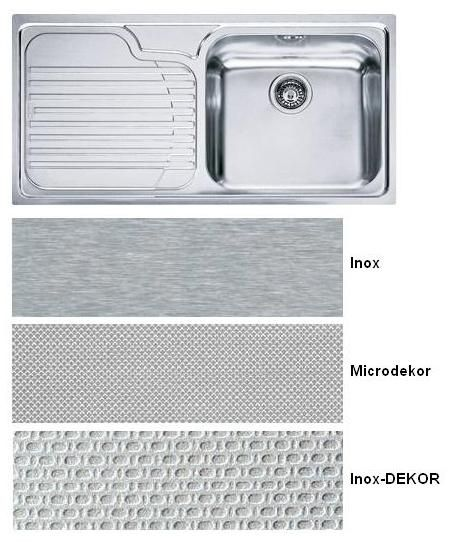 Evier Inox Nid D Abeille 1 Bac Pearlfection Fr