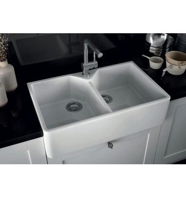 Evier ceramique moderne - pearlfection.fr