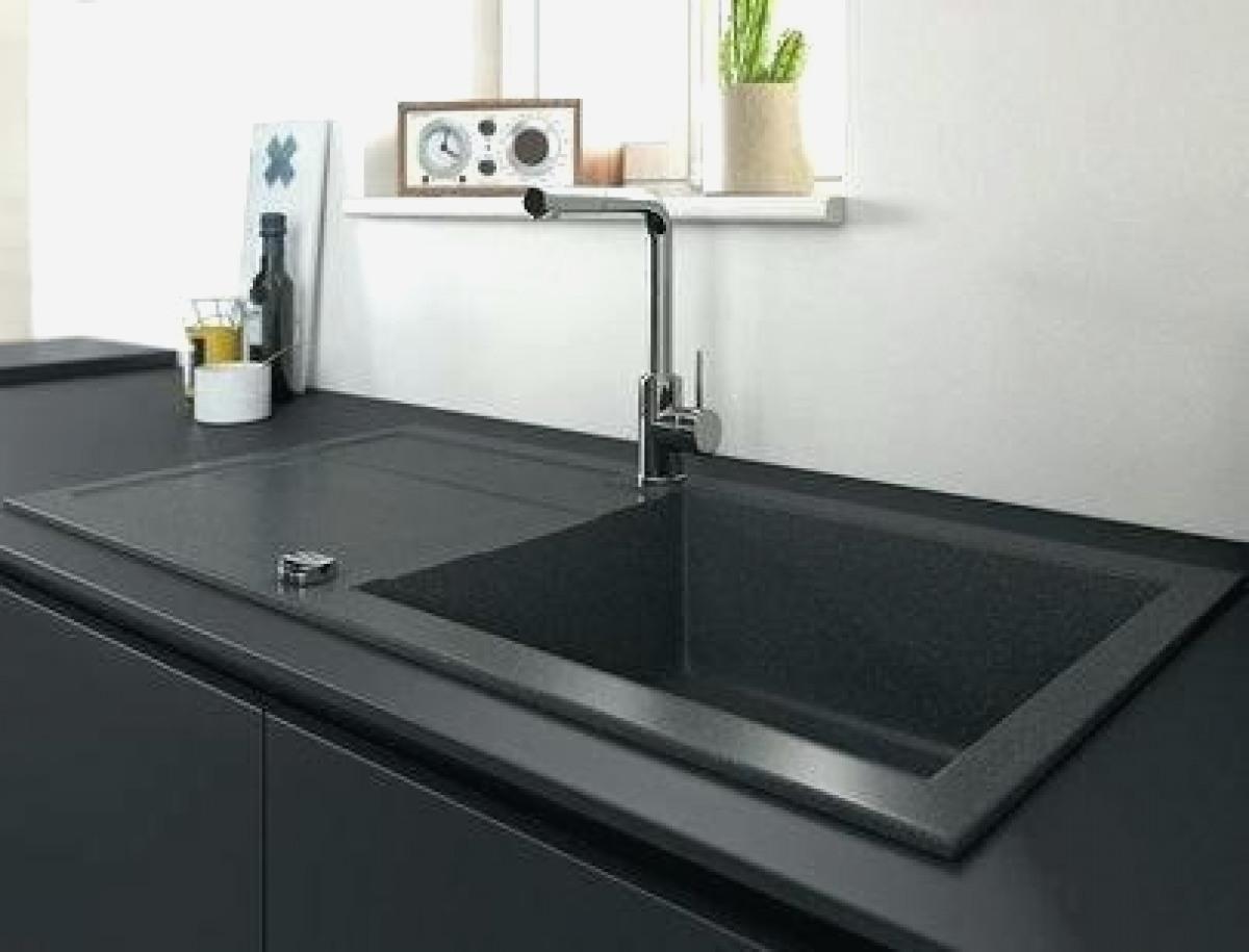 evier cuisine gris femandm. Black Bedroom Furniture Sets. Home Design Ideas